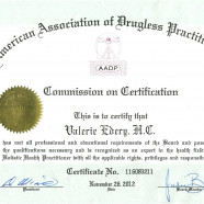 Diplome « American Association for drugless practioners »
